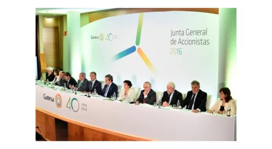 Gamesa returns to the sustainability index Dow Jones Sustainability Index World / Pressebild: Gamesa