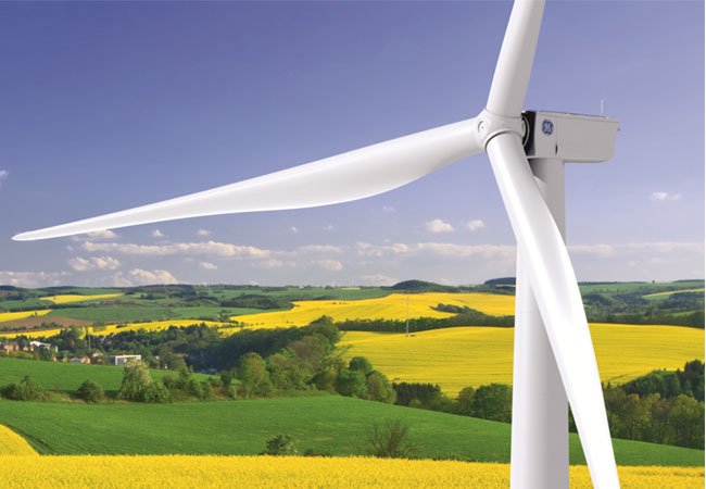 juwi und GE haben einen Rahmenvertrag über bis zu 110 der neu entwickelten Anlagentypen 3.6-137 und 3.8-130 der 3MW Klasse abgeschlossen (Bildquelle: GE).
