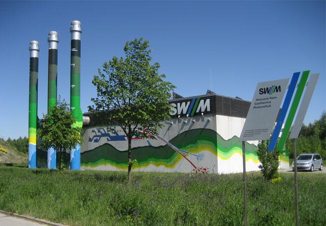 Die Geothermieanlage in München-Riem Bild: Bundesverband Geothermie