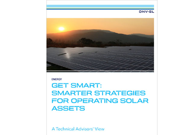 Smarter strategies for operating solar assets