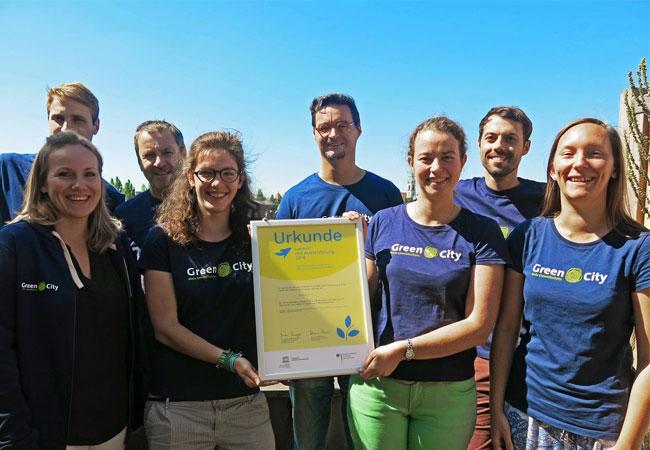 Green City erhält UNESCO-Auszeichnung für gelebte Nachhaltigkeit / Pressebild