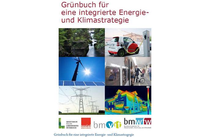 Downloads Grünbuch für eine integrierte Energie- und Klimastrategie (PDF 2,6 MB)