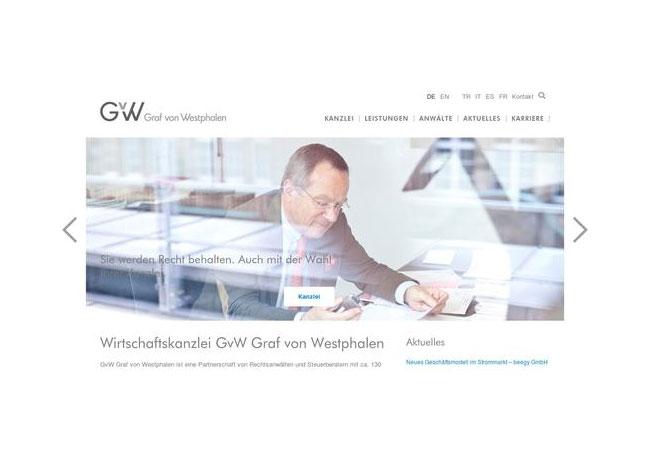 Internetauftritt: www.gvw.com