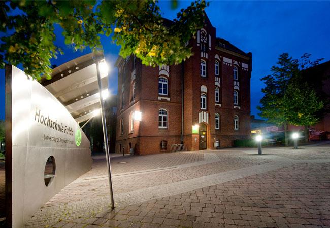 HS Fulda/campus/Abendstimmung: Jens Herrmann
