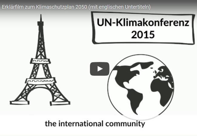 Video: Erklärfilm zum Klimaschutzplan 2050