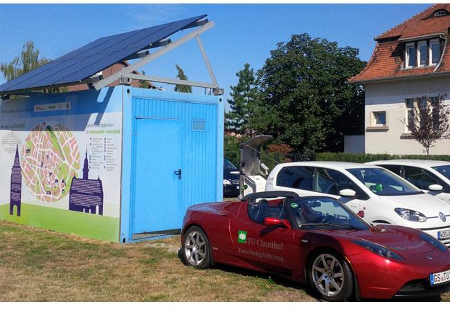 Auch Forscher der TU Clausthal sind an dem Modellprojekt zur Elektromobilität in Helmstedt beteiligt. Foto: Benger