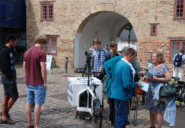 E-Bike-Lastenrad der Fachhochschule Flensburg / Pressefoto