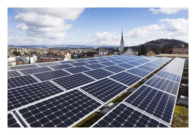 Pressebild: Photovoltaikanlage in Rickenbach