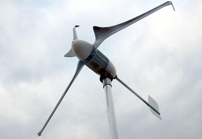 Breezergy Turbine / Pressebild