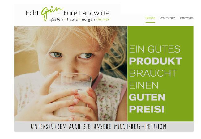 Die Produktionskosten für einen Liter heimische Milch liegen bei rund 35 Cent.