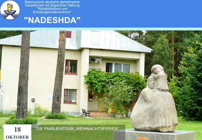 Das Photovoltaikprojekt in Nadeshda wird ausschließlich durch Spenden finanziert. / Pressebild