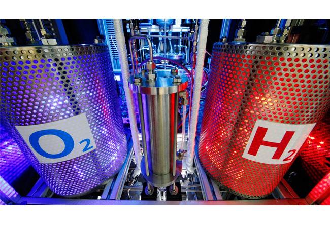 Ressourcenschonend mit Wasserstoff in die Zukunft / Pressebild: DLR