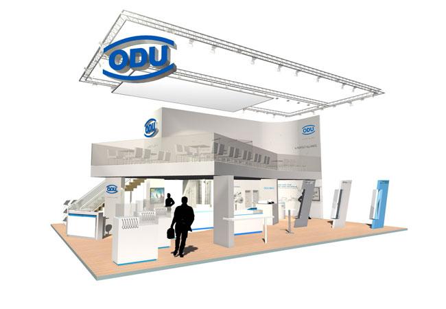 Auf der electronica 2016 präsentiert ODU erstmalig sein weiterentwickeltes ODU-MAC Portfolio inklusive einer neuen Leistungsklasse – und natürlich weitere, hochwertige Steckverbindungslösungen / © 2016 ODU GmbH & Co. KG