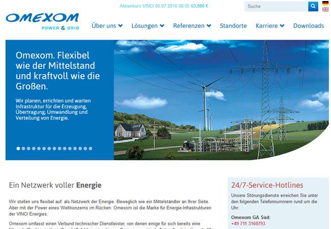 Internetauftritt: http://www.omexom.de/