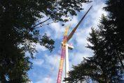 Großer Bahnhof für Bayerns größten Wald-Windpark / Pressebild: Ostwind