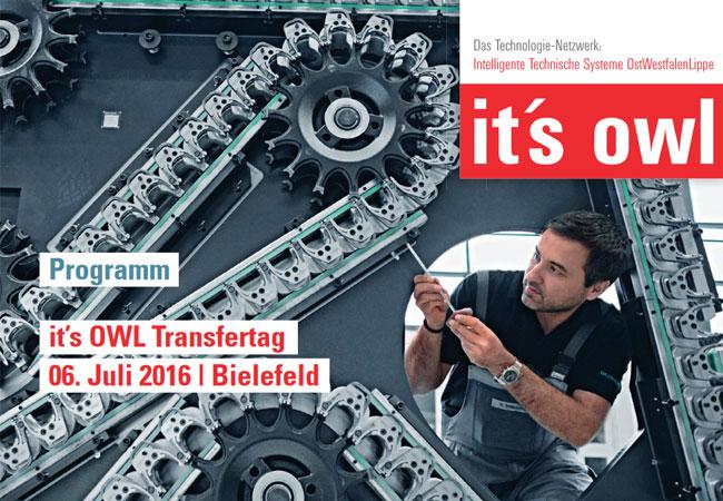 Technologietransfer aus dem Spitzencluster: Unternehmen ziehen positive Bilanz / it´s OWL Clustermanagement GmbH