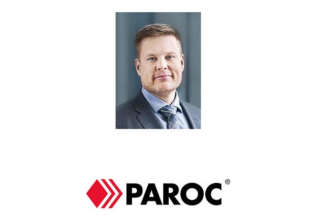 Jari Airola Senior Vice President Building Insulation Paroc Group