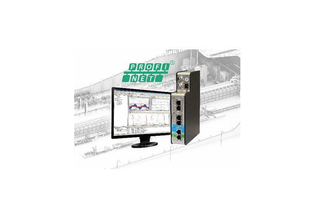 Bildunterschrift: Noch mehr iba-Konnektivität: Mit dem Busmonitor ibaBM-PN ist eine Anbindung an PROFINET-Netzwerke möglich.