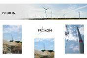 Bau des bislang größten PROKON Windparkprojektes schreitet voran / Pressebilder: PROKON