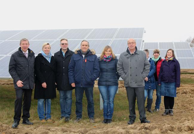 Photovoltaik-Anlage Klüsserath / Pressebild