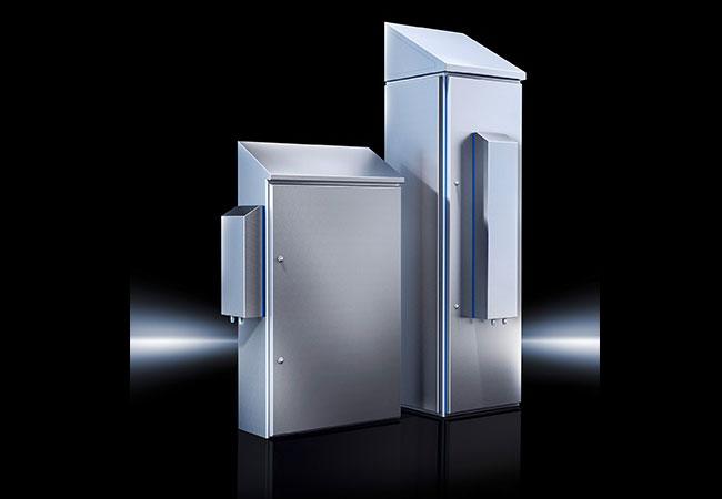 Pressebild: Mit seinen neuen Luft/Wasser-Wärmetauschern im Hygienic Design bietet Rittal eine standardisierte Lösung für eine effiziente Schaltschrank-Klimatisierung in hygienekritischen Anwendungen.