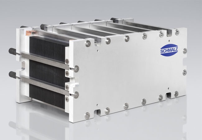 Stacks sind das Herzstück eines Redox-Flow-Batteriesystems. / Pressebild