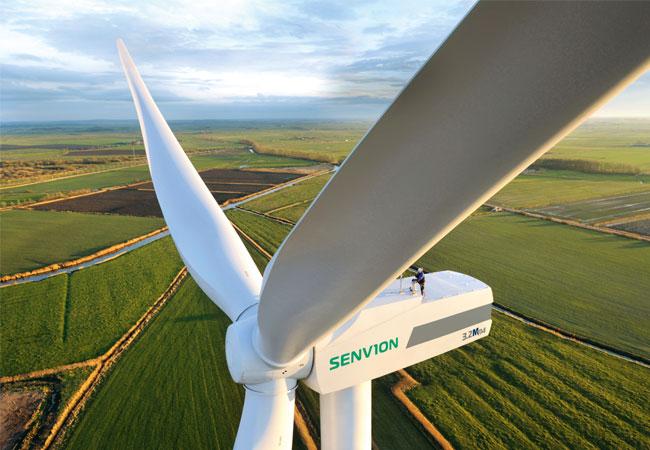 Die neue Anlage vom Typ Senvion 3.6M140 wird in den beiden Windparks auf dem australischen Markt eingeführt. / Pressebild