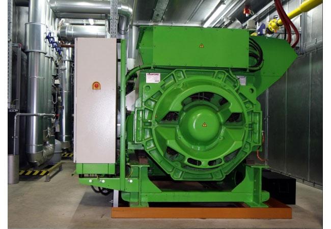 Die Siemens AG in Mühleim setzt für ihr Dampfturbinen und Generatoren Werk auf BKHW-Technik. / Pressebild