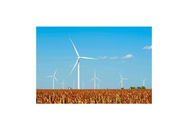 Siemens Windturbinen für die USA: Das Broadview-Projekt umfasst 141 Anlagen des Typs SWT-2.3-108 in New Mexico und Texas. / Pressebild: Siemens