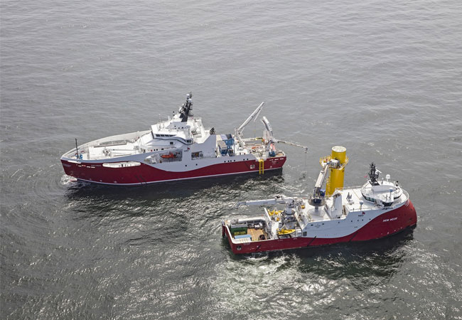 Siem Offshore Contractors awarded Contract for the Trianel Windpark Borkum II. Copyright Siem Offshore Contractors GmbH