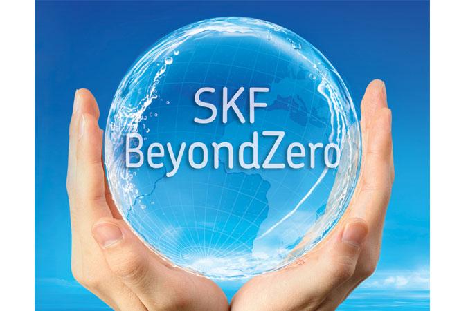 Bildunterschrift: Dank seines umfassenden Engagements in Sachen Nachhaltigkeit ist der SKF Konzern bereits zum 17. Mal in Folge in den Dow Jones Sustainability World Index aufgenommen worden. Bilder: SKF