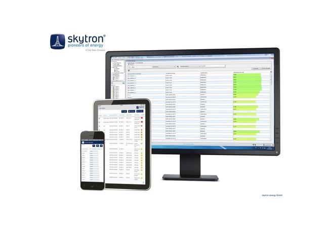 skytron® energy bringt neue PVGuard® Leitwartenplattform 2.4 auf den Markt / Pressebild