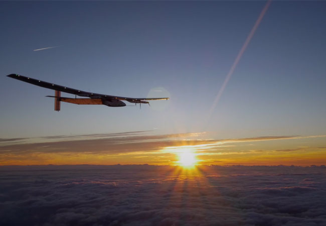 Solar Impulse 2 landet in New York / Videobild