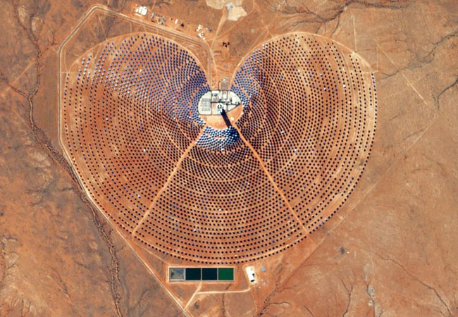 Solarkraftwerk in Südafrika / Pressebild: DLR