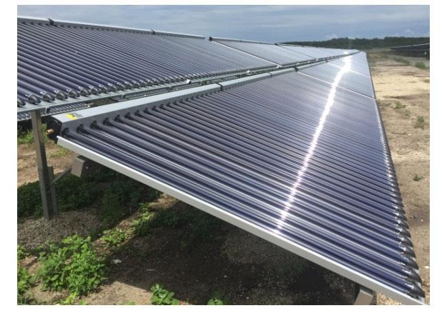 Größte thermische Solaranlage Deutschlands / Pressebild