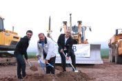Spatenstich zum Baustart: WSB errichtet 14,4 MW-Windpark Wipperdorf / Pressebild