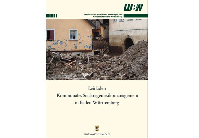 Land veröffentlicht Leitfaden zum Starkregenrisikomanagement