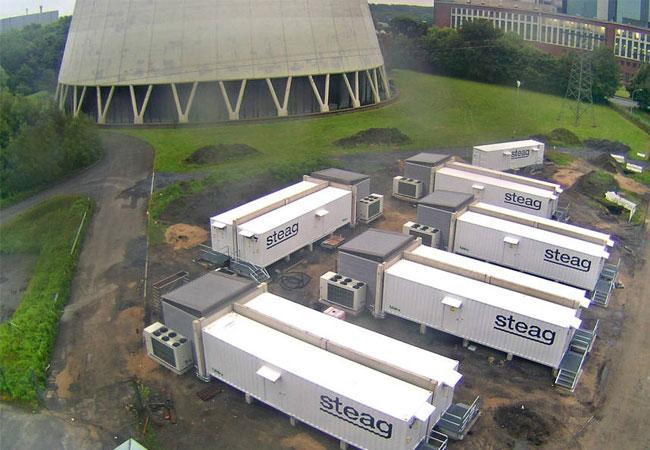 Foto STEAG Grossbatteriesystem