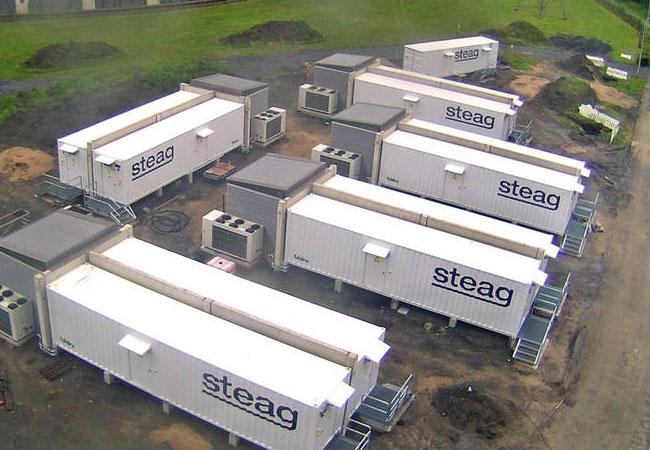 STEAG Großbatterie-System