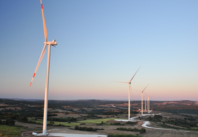 STEAG Windpark Süloglu Türkei