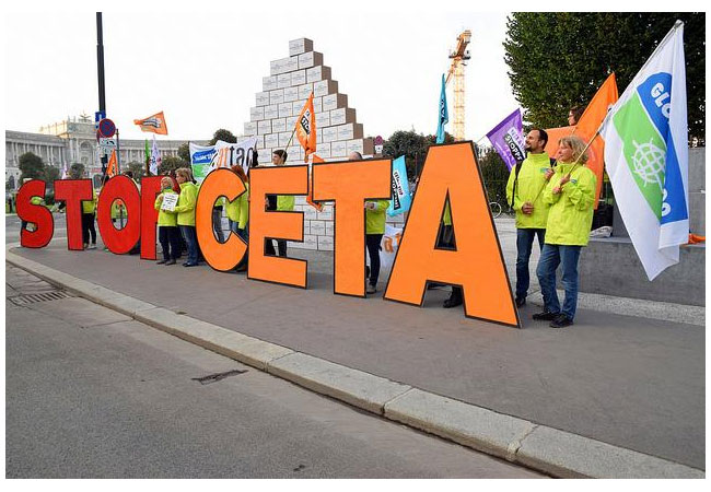 STOP-CETA / Pressebild: Global 2000