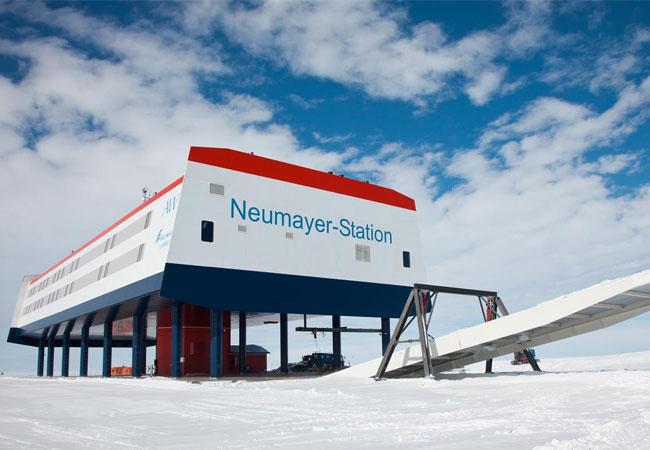 Südpolstation / Pressebild: Deutsches Zentrum für Luft- und Raumfahrt (DLR)