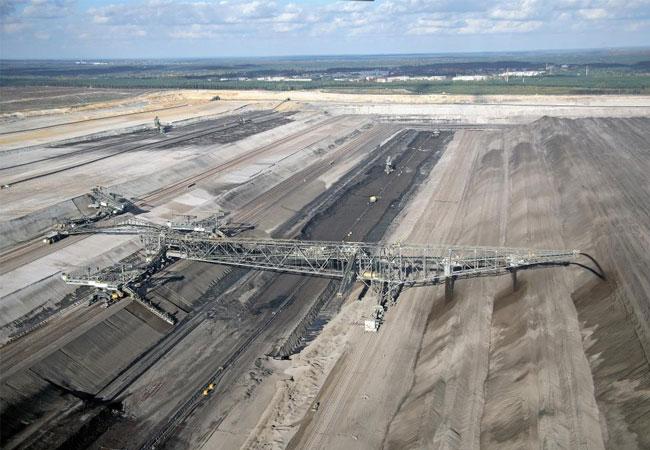 Vier Tagebaue gehören zu Vattenfalls Braunkohlesparte, hier ein Bild aus Nochten, Foto: Vattenfall