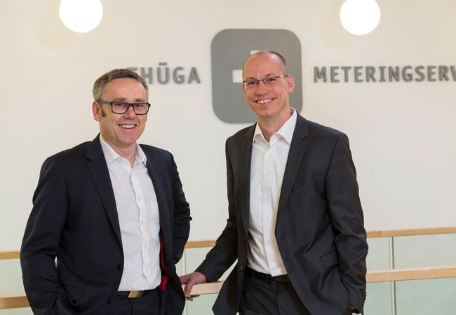 Die Geschäftsführer des künftigen Unternehmens (v.l.) : Peter Hornfischer und Franz Schulte (Quelle: TMS)