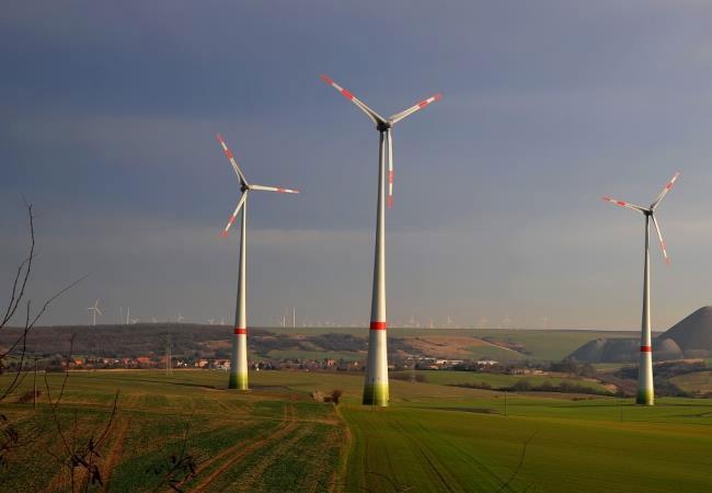 Trianel Windpark Eisleben / Pressebild