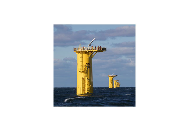 SeaRenergy and SMC awarded with a contract for Offshore Support Services on the Veja Mate Offshore Wind farm / Pressebild