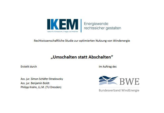 """IKEM-Studie: """"Umschalten statt Abschalten"""""""