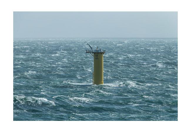 Vattenfall Offshore wind farm / Pressebild