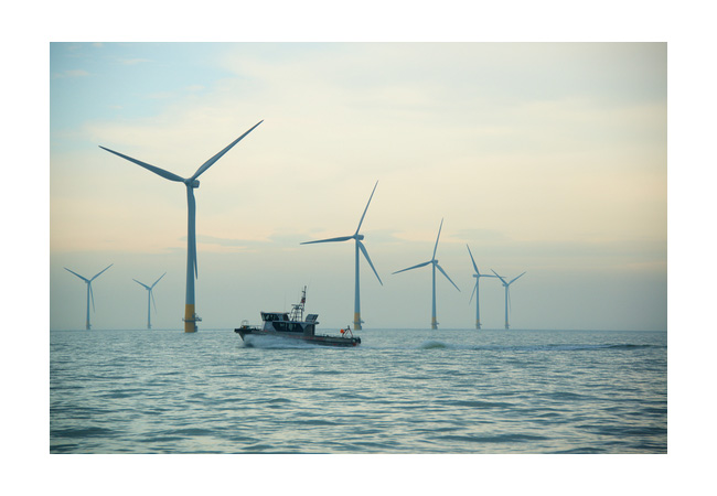 Kentish Flats Extension Offshore Wind Farm. / Photo: Vattenfall