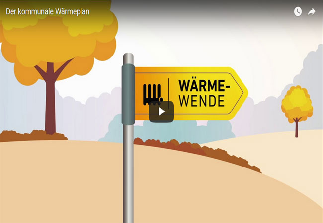 Der kommunale Wärmeplan / Video